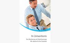 Broschüre - Zeitwertkonto Wegweiser